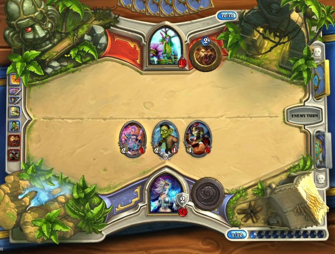 HS Playing against Druid 1